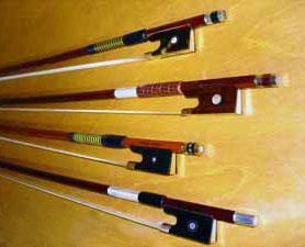 Beautiful wood bows