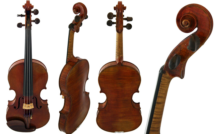 German Violin Labeled C.A. Wonderlich Circa 1920