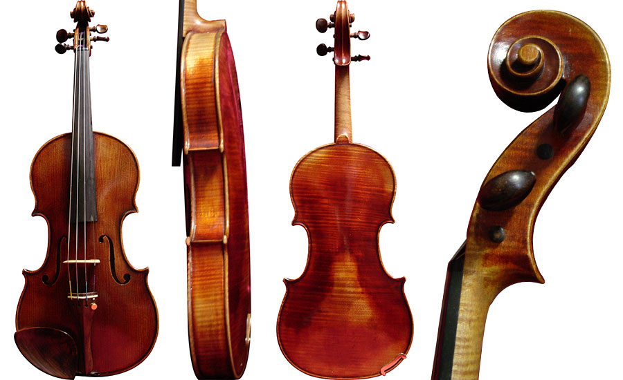 Violin Labeled Ernst Heinrich Roth 1952