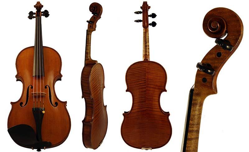 Francois Barzoni Violin 1890