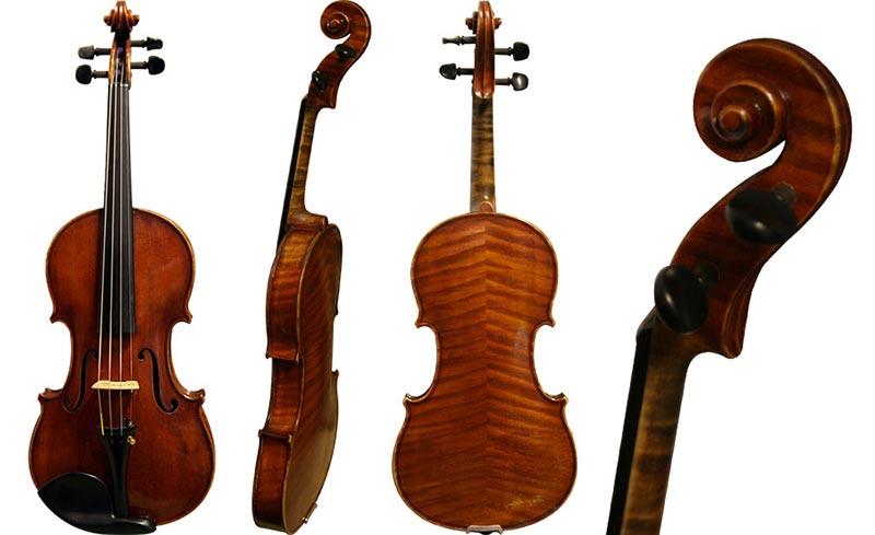 Violin branded JH Schult 1914