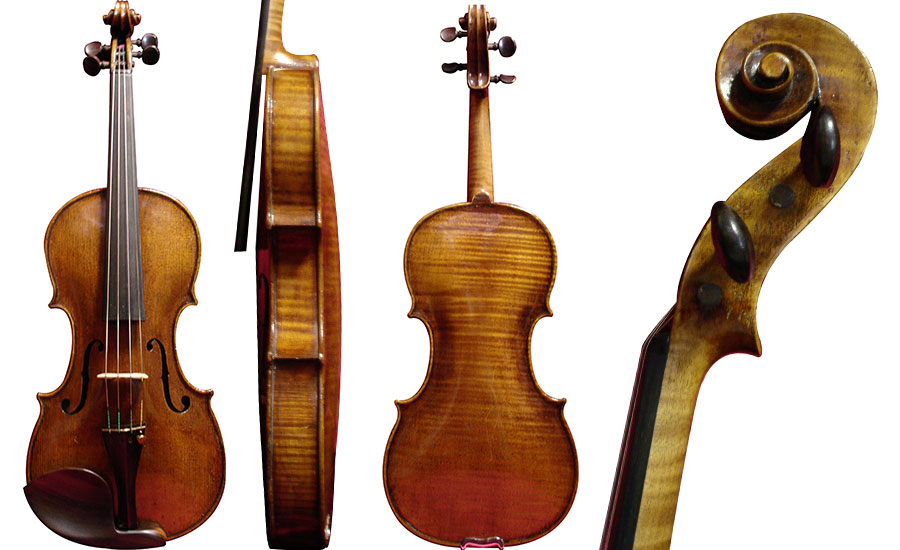 Violin labeled John Juzek 1927