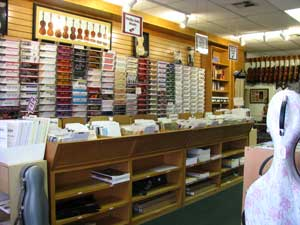 Picture of the front of the store