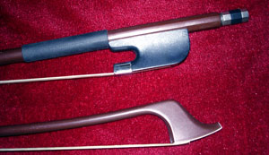 Glasser fiberglass bass bow French
