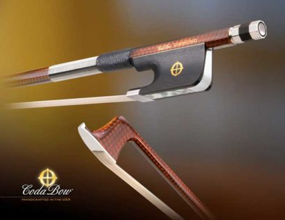 Coda Diamond GX Cello Bow – Carbon