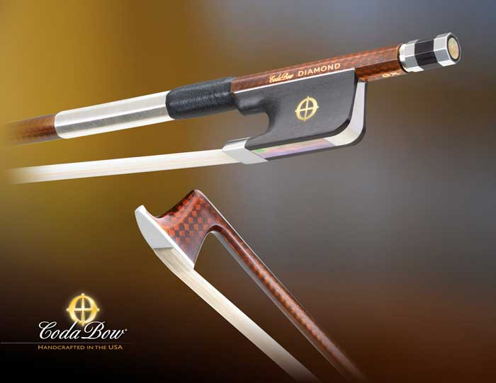 Coda Diamond GX Viola Bow