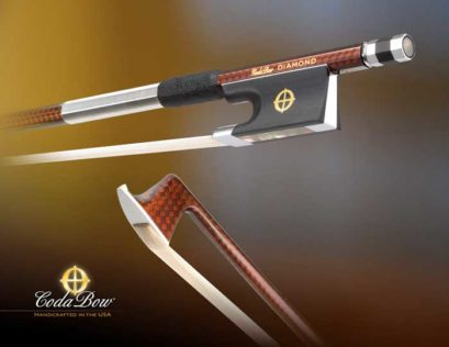 Coda Diamond GX Violin Bow – Carbon