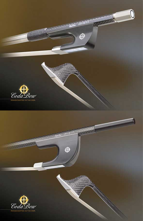 Coda Infinity Bass Bows French and German