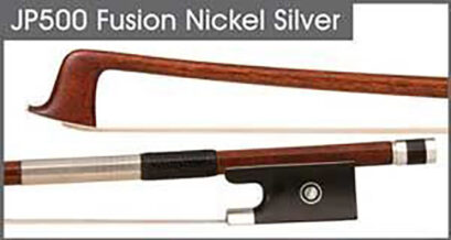 JonPaul Fusion Cello Bow (Nickel Silver) – Carbon/Wood