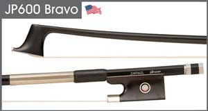 JonPaul Bravo Cello Bow (violin pictured)