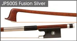 JonPaul Fusion Cello Bow Silver (Violin Pictured)