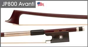 JonPaul Avanti Cello Bow (violin pictured)