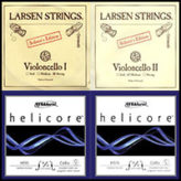 Larsen Soloist Helicore Cello String Set Combo