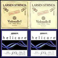 Larsen Soloist Helicore Cello String Combo Set