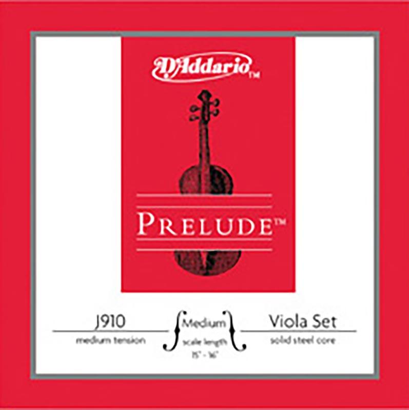 D'Addario Prelude Viola String Set