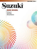 Suzuki Bass School Volume 2 (Book/Book CD/CD/Piano Accomp.)