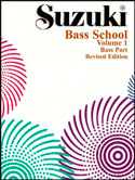 Suzuki Bass School Volume 1 (Book/Book & CD/CD/Piano Accomp.)