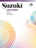 Suzuki Viola School Volume 1 (Book/Book & CD/CD/Piano Accomp)