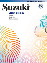 Suzuki Violin School Volume 4 (Book/Book & CD/CD/Piano Accomp)
