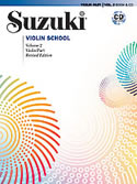 Suzuki Violin School Volume 2 (Book/Book & CD/CD/Piano Accomp)