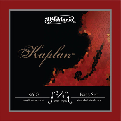 Picture of a Kaplan bass string set