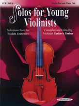 Solos for Young Violinists Volume 6 (Book/Piano Accomp/CD)