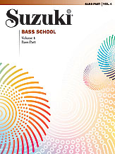 Suzuki Bass School Volume 4 (Book/Piano Accomp.)