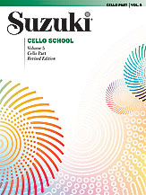 Suzuki Cello School Volume 5 (Book/CD/Piano Accomp)