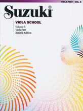 Suzuki Viola School Volume 5 (Book/CD/Piano Accomp)