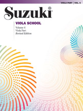 Suzuki Viola School Volume 6