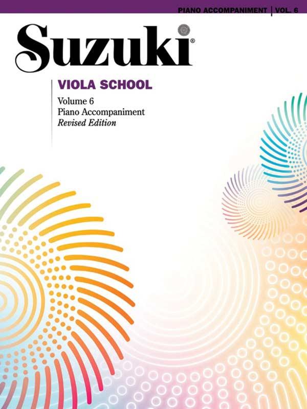 Suzuki Viola School Volume 6