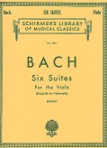 Bach 6 Suites for Viola
