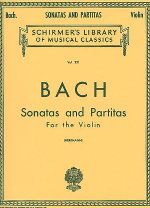 Bach Six Sonatas and Partitas for Violin – Schirmer ed.