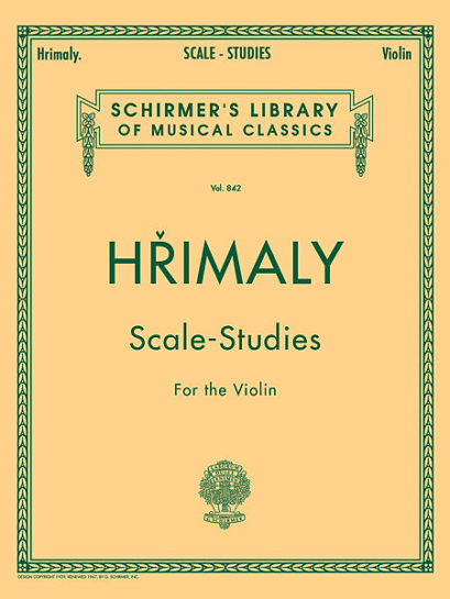 Hrimaly Scale Studies for Violin – Schirmer Ed.