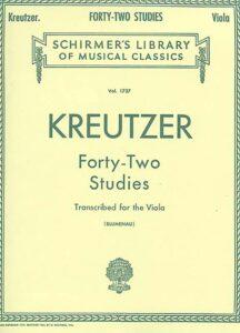 kreutzer42studiestranscribedforviola