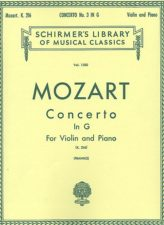 Mozart Concerto No. 3 in G for Violin - Schirmer ed.