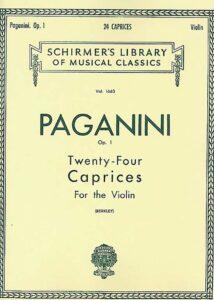 paganini24capricesforviolin