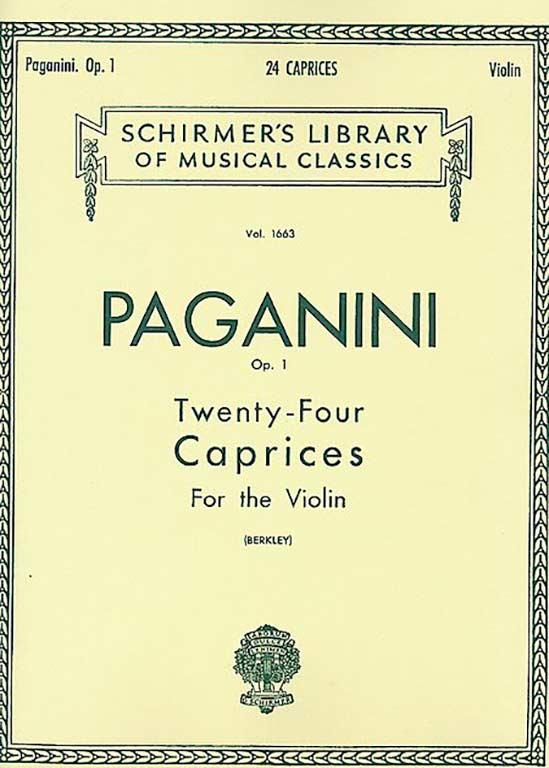 Paganini 24 Caprices for Violin