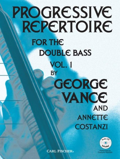 Progressive Repertoire for the Double Bass Volume 1 (Book w/CDPiano Accomp)