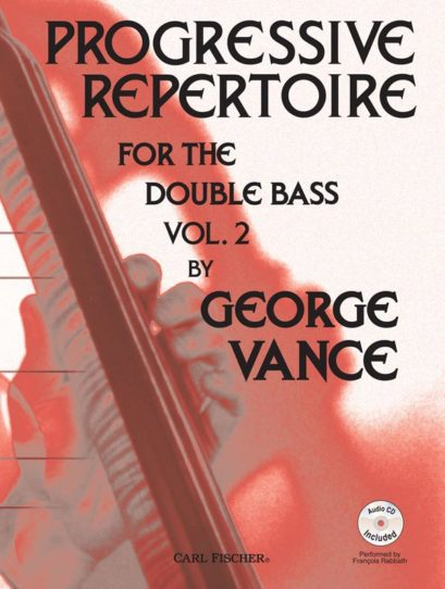 Progressive Repertoire for the Double Bass Volume 2 (Book w/CDPiano Accomp)