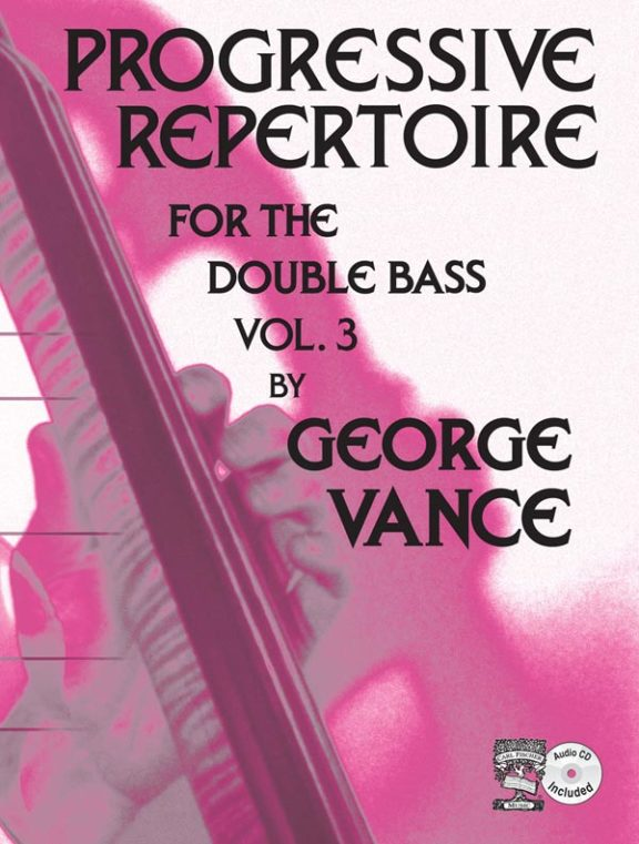 Progressive Repertoire for the Double Bass volume 3