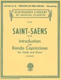 Saint-Saens Introduction and Rondo Capriccioso – Schirmer ed.