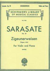 Sarasate Zigeunerweisen for Violin Schirmer ed.