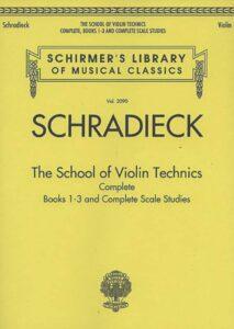 schradieckschoolofviolintechnicscompleteschirmer