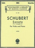 Schubert Sonata per Arpeggione for Viola