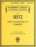 Seitz Pupil's Concertos Complete for Violin - Schirmer ed.