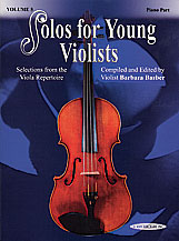 Solos for Young Violists Volume 5 (Book/Piano Accomp/CD)