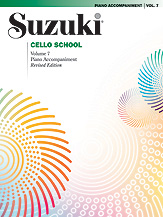 Suzuki Cello School Volume 7 (Book/CD/Piano Accomp.)