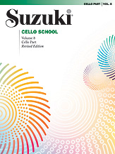 Suzuki Cello School Volume 8 (Book/CD/Piano Accomp.)