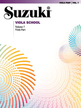 Suzuki Viola School Volume 7 (Book/CD/Piano Accomp.)